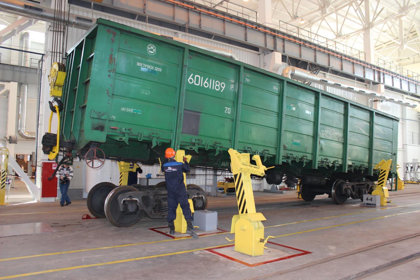 Как мы ремонтируем и обслуживаем грузовые вагоны в сервисе Vagonmaster